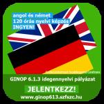 120 órás ingyenes nyelvi képzési lehetőség angol és német nyelvből